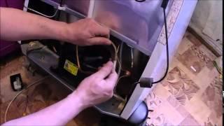 Замена компрессора холодильника АТЛАНТ / Refrigerator repair(, 2015-05-05T20:40:40.000Z)
