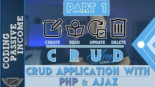 PHP Ajax CRUD Application Tutorial - MySQL & Bootstrap & jQuery DataTables [Part 1]