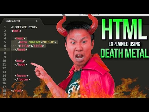 SATAN EXPLAINS HTML Using DEATH METAL