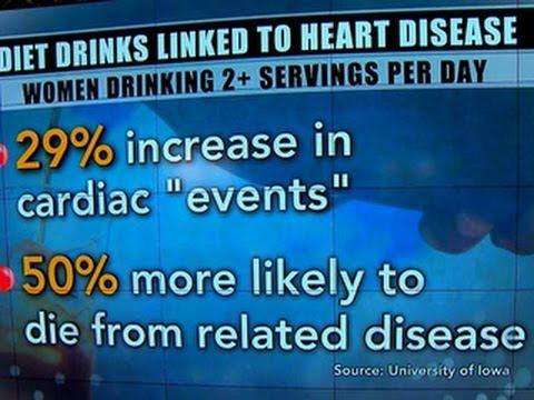 Diet drink danger: Possible link to heart risk in older women, study says