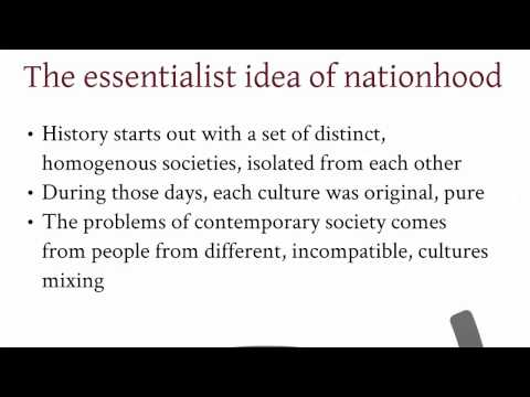 Nationalism political ideology