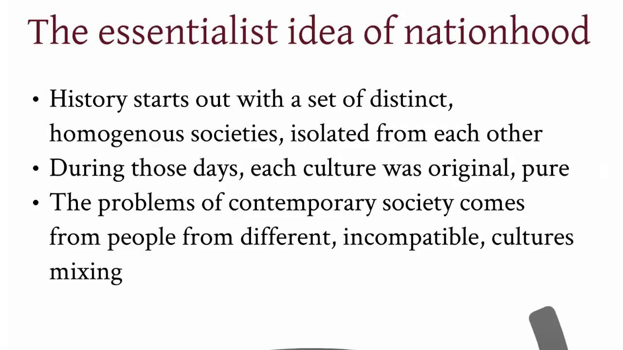 nationalism political ideology nationalism political ideology