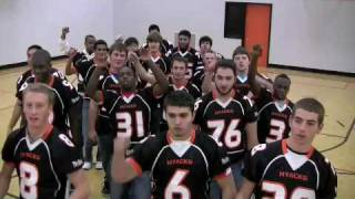 CARRY THE FLAME - Challenge Video from The Hyacks Football Team