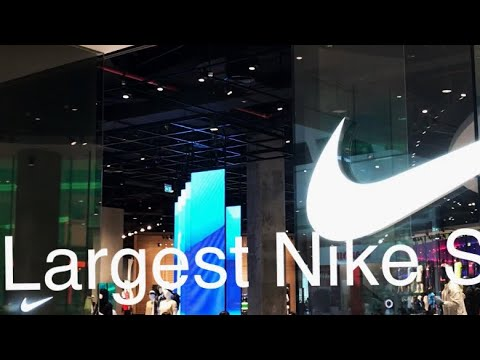 World Largest Nike One Level Store @ Dubai Mall, UAE-Michael B Collections