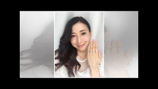 元大阪パフォーマンスドール・中野公美子、結婚を報告…交際3か月半スピ...