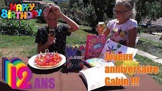 """C'est l""""anniversaire de Gabin !!!!!!"""
