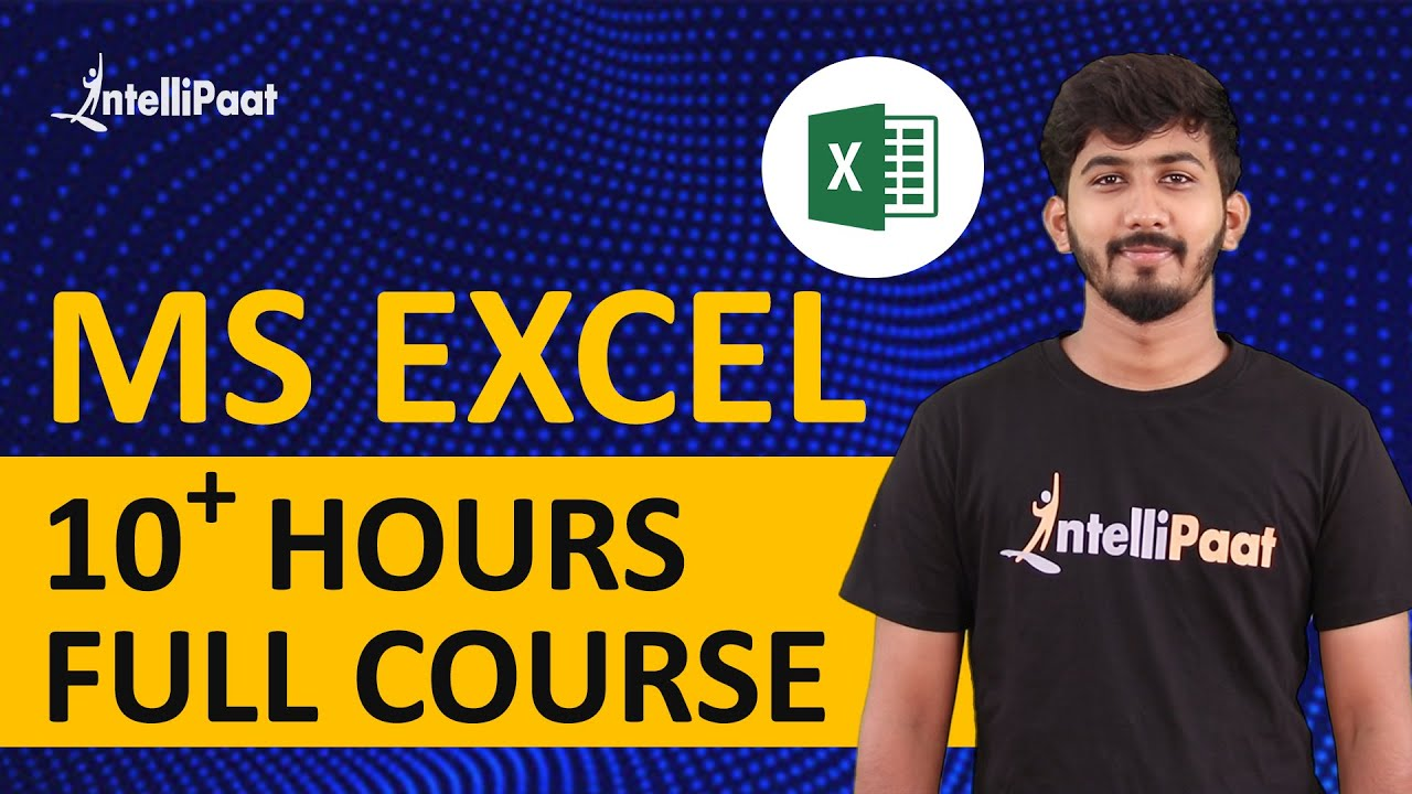 Excel Tutorial | Microsoft Excel Tutorial | Excel Training | Intellipaat