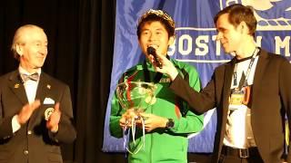 Boston Marathon 2018 Yuki Kawauchi Winning Speech