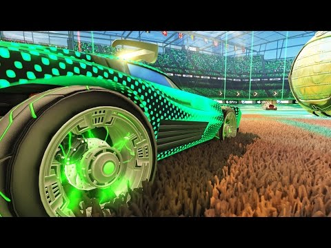 1V1's WITH MY NEW LIGHTENING WHEELS | ROCKET LEAGUE