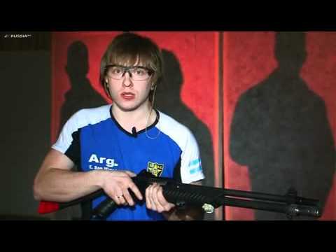 Темповая стрельба из ружья