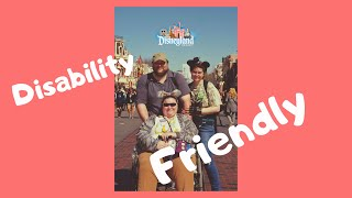 Disney Is Disability Friendly