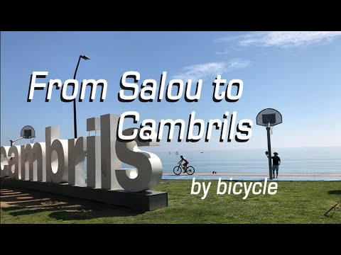 From Salou To Cambrils By Bicycle