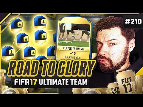 ATTRIBUTE CARDS! - #FIFA17 Road to Glory! #210 ultimate team