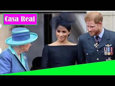 La promesa de Meghan Markle y el Príncipe Harry a la Reina después de Megxit 'se fue por el des@güe'