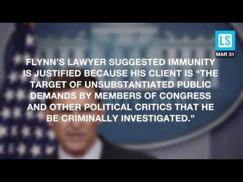 Mike Flynn Wants Immunity Before He Talks