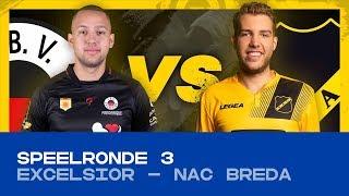 EDIVISIE | Speelronde 3: Excelsior - NAC Breda