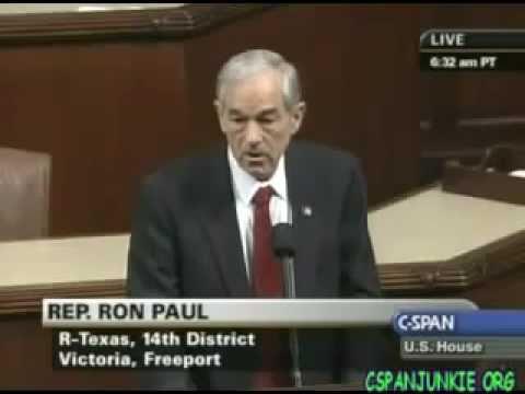 Ron Paul - Israel Created Hamas