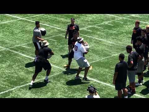 "TrojanInsider: Five-Star OT Jackson Carman Impresses at USC ""Practice Camp"" Monday (6/19)"