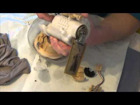 toyota rav4 топливный фильтр замена