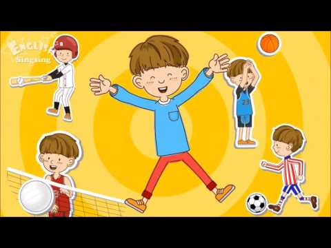 Sports Song   Educational Children Song   Learning English Sports for Kids