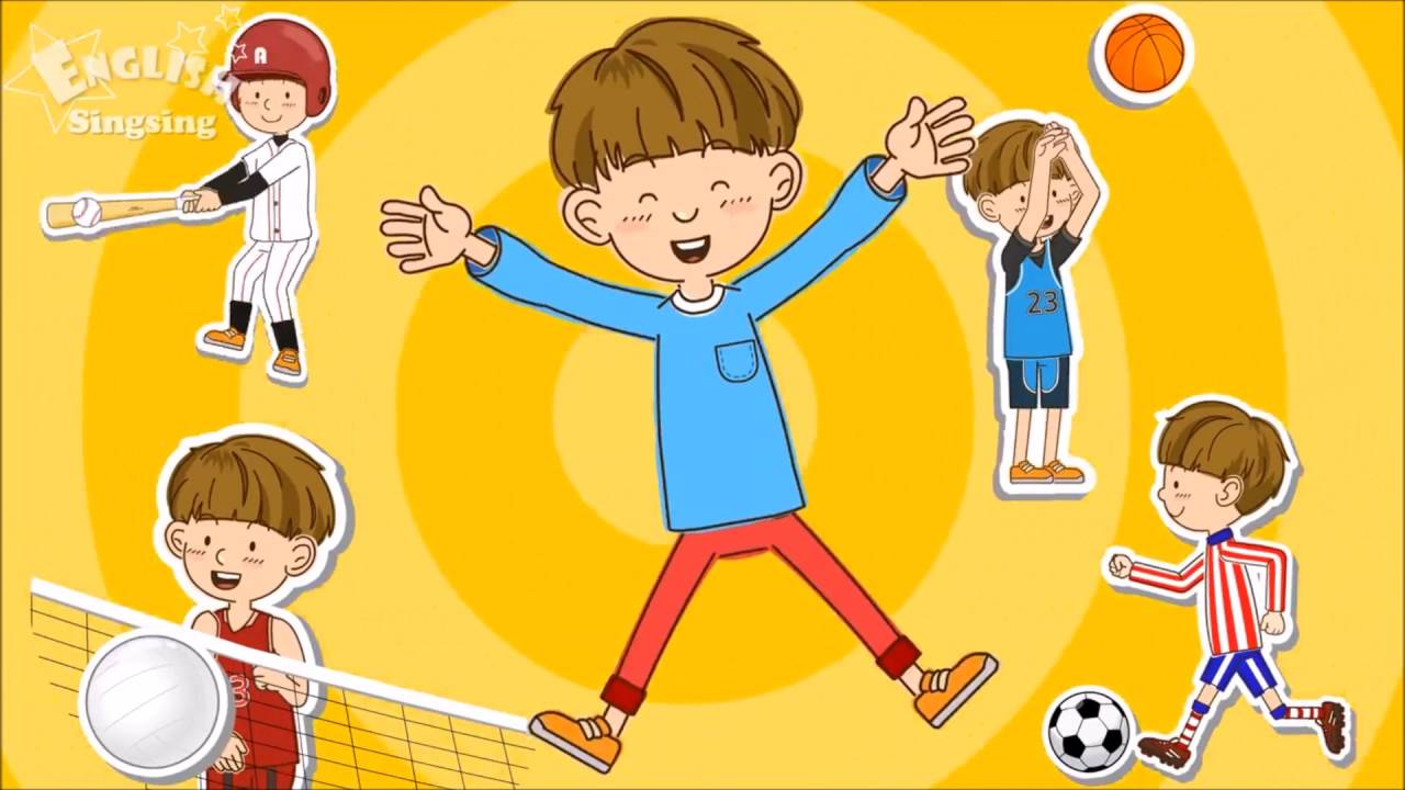 d7dc2f35 Sports Song Educational Children Song Learning English Sports for Kids