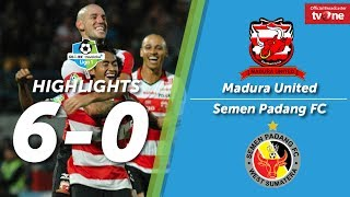 Download Video Madura United vs Semen Padang FC: 6-0 All Goals & Highlights MP3 3GP MP4