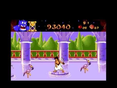Told végig: Aladdin pc game 1994