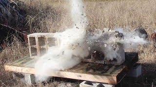.50 BMG против шлакоблоков | Сломанное ранчо | Перевод Яндекса