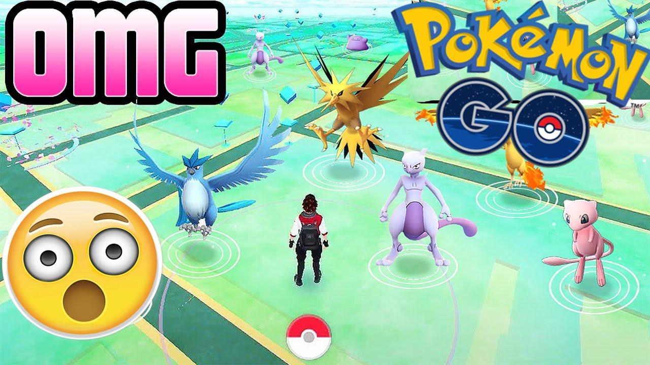 omg comment avoir tous les legendaires sur pokemon go