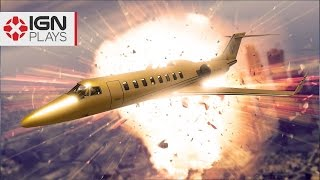 We Crash GTA 5's Most Expensive New Plane - IGN Plays