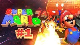 Super Mario 74 (Super Mario 64 Romhack) part 1