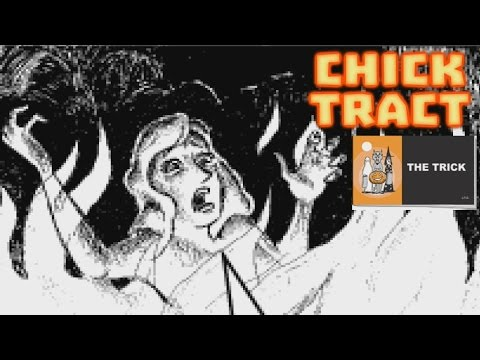 The Trick - A Halloween Chick Tract