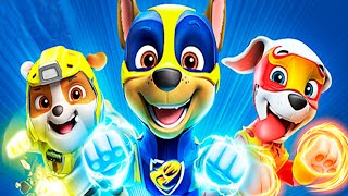 PAW Patrol Mighty Pups Save Adventure Bay - All Pups Chase Super Heroic Rescue Mission - Nick Jr HD