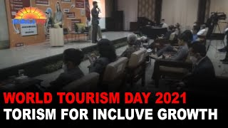 WORLD TOURISM DAY 2021 TORISM FOR INCLUVE GROWTH