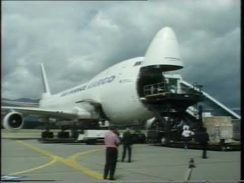 75 ans de Cointrin (Geneva Airport)  B747 cargo et Concorde d'Air France