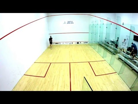 Seattle Squash Open 2016 - Quarter final Shah Khan (PAK) vs Tom Ford (ENG)