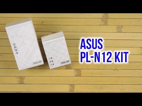 Распаковка Asus PL-N12 Kit