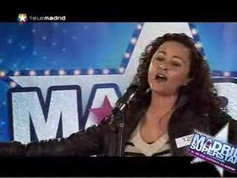 Mary Sánchez en Madrid Superstar