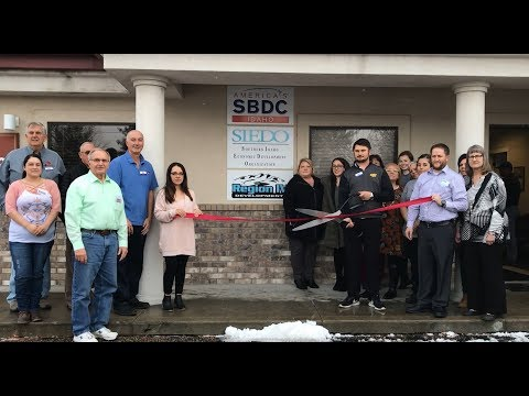 Ribbon Cutting for the new building for Region IV, SIEDO, AND SBDC.