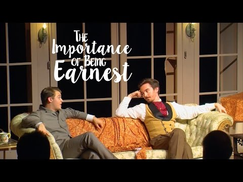 """TCNJ All College Theatre's """"The Importance of Being Earnest"""""""