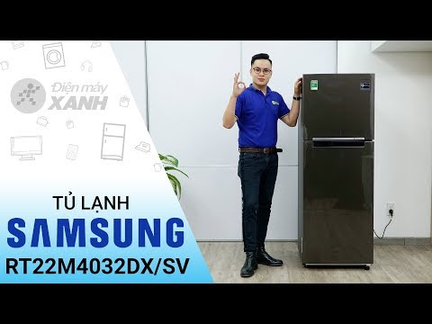 Tủ lạnh Samsung Inverter 236 lít RT22M4032DX/SV: Đơn giản và tinh tế • Điện máy XANH