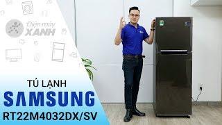 Tủ lạnh Samsung Inverter 236 lít RT22M4032DX/SV - Đơn giản và tinh tế | Điện máy XANH