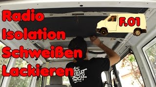 From the scrap car to a camper E.01 | VW bus transformation