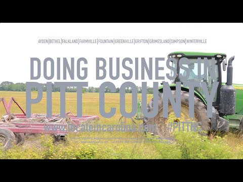 Doing Business in Pitt County