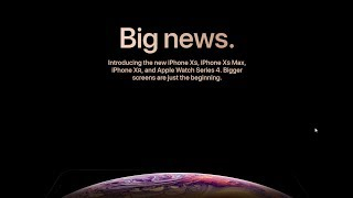 APPLE EVENT 2018 HIGHLIGHTS - iPHONE XS, iPHONE XS MAX, iPHONE XR, iWATCH 4