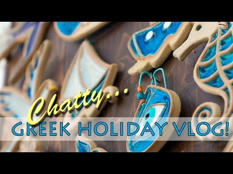 Chatty Greek Holiday Vlog | Rafael Studios Lindos, Rhodes |