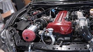 2jz brz pt 34 single turbo install