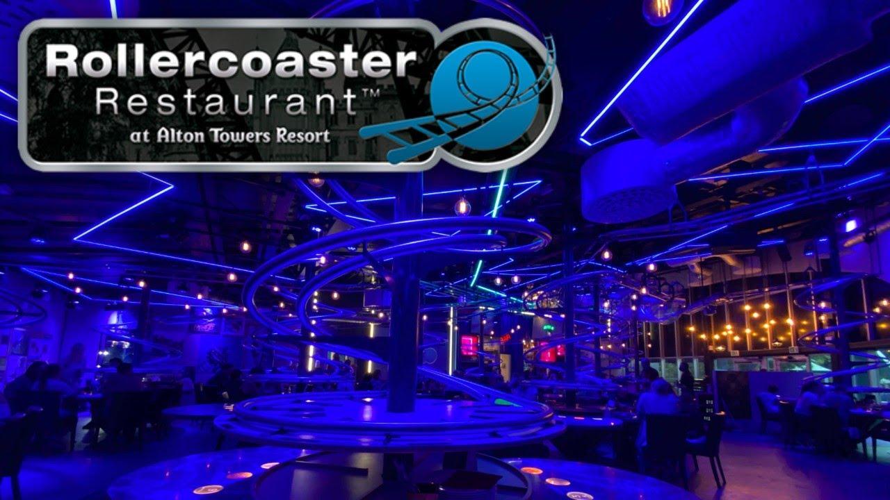 Alton Towers Rollercoaster Restaurant Vlog June 2021