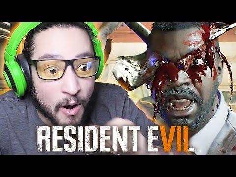 Jack Baker Garage Fight Resident Evil 7 Biohazard Part 3 Vloggest