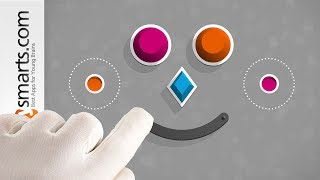 Shape Sorting Puzzle Game for Children: Winky Think - iPad app demo video
